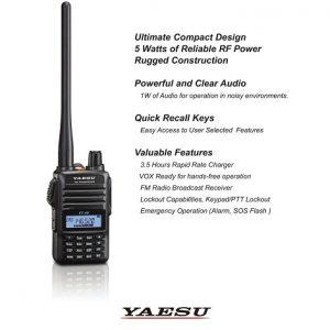 วิทยุ YAESU รุ่น FT-4VR สีดำ วิทยุสื่อสารสำหรับนักวิทยุสมัครเล่น 144.000-147.000 Mhz แบตทน ใช้งานได้นานกว่า 9 ชั่วโมง วิทยุ FM ขาย วิทยุสื่อสาร Icom วอ Spender Yaesu ขอนแก่น มหาสารคาม กาฬสินธุ์ ร้อยเอ็ด