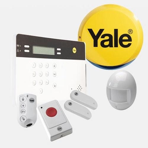 สัญญาณกันขโมย YALE ประเทศอังกฤษ ENGLAND (GSM) รับประกัน 2 ปีเต็ม