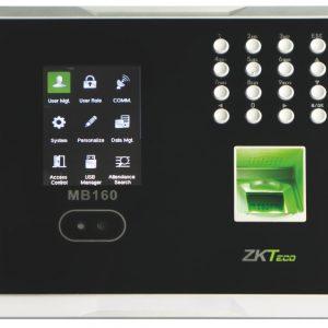 สแกนหน้า Face Scan บันทึกเวลาการทำงาน ZKTECO รุ่น ZK-MB160 สินค้าของแท้ นำเข้าอย่างถูกต้อง จาก ZKTECO รับประกัน 2 ปีเต็ม