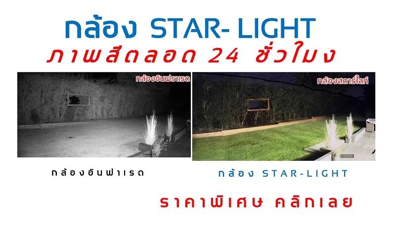 2.4 ล้าน กล้อง Star light ขอนแก่น ภาพสี MINICS